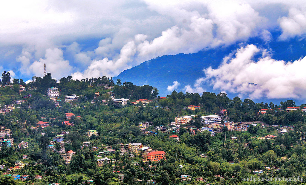 Beautiful View of Kalimpong Town
